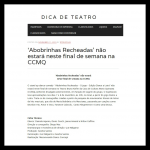 Dica de Teatro - 11.11.15