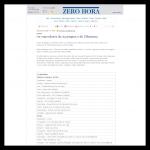 Zero Hora - 30.04.2008